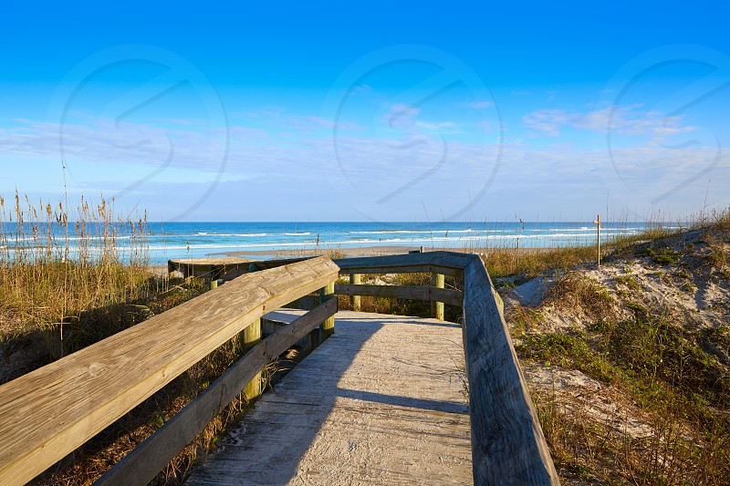 Atlantic Beach in Jacksonville East of Florida USA US photo