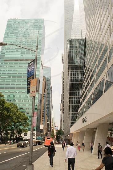 City street. photo