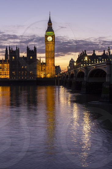 Big Ben in London is one of the most photographed objects.  Dating back to 1858. photo