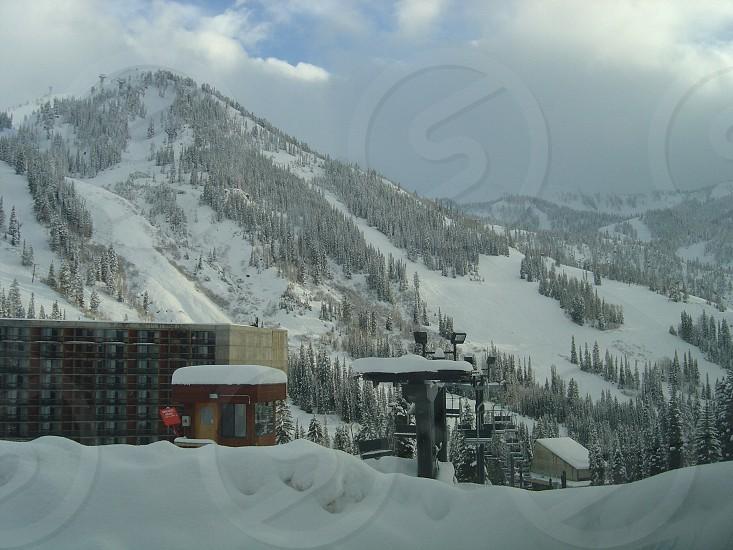 Snowbird Utah.  photo
