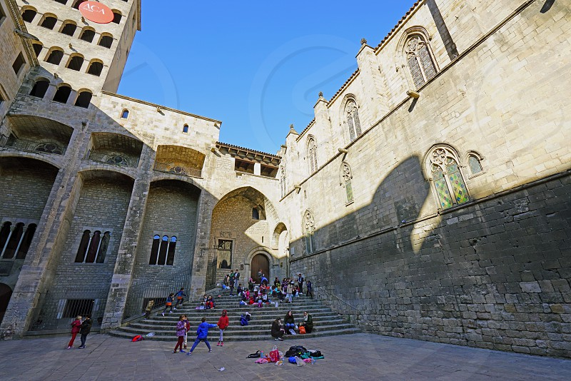 Barcelona City History Museum in Barcelona Spain photo