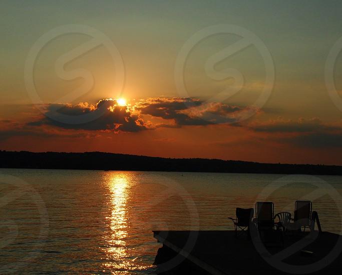 The golden hour  Canandaigua Lake WNY finger Lake region photo