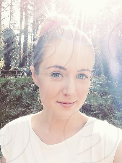 Sunshine selfie photo