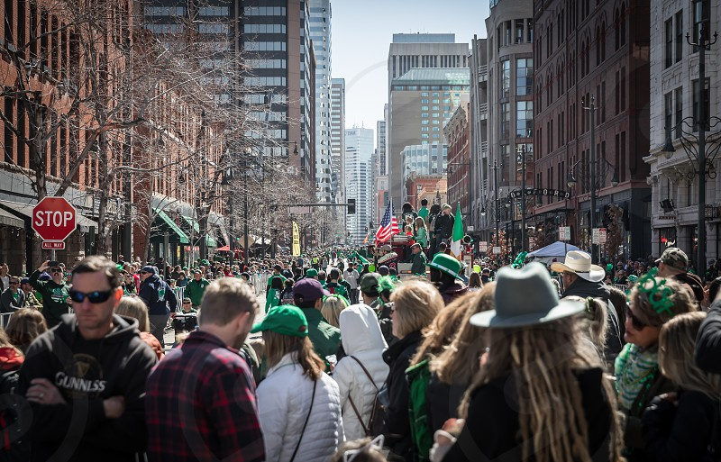 Impressions from and around the St. Patricks Day Parade in Denver photo