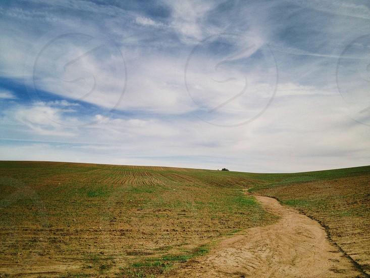 road panoramic view photo