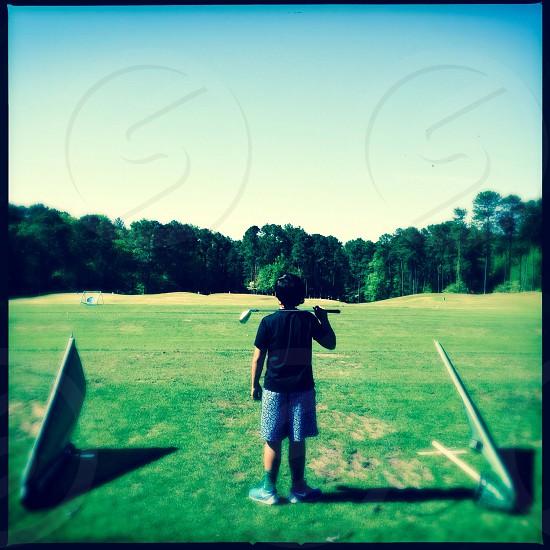 Bot golfer photo