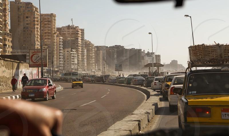 heavy traffic photo