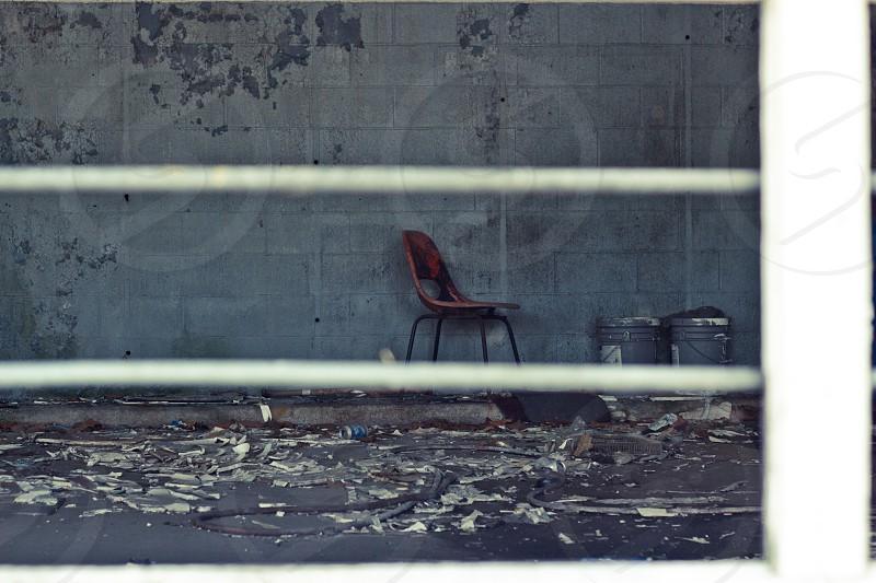 brown chair photo