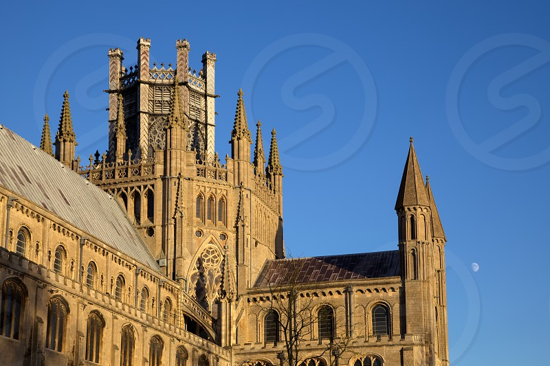 Exterior view of Ely Cathedral photo
