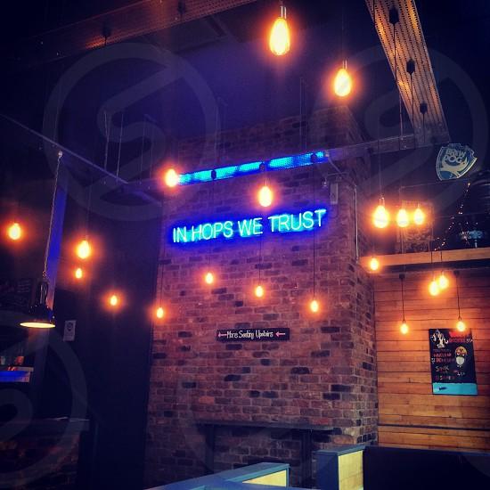 Hops we trust photo