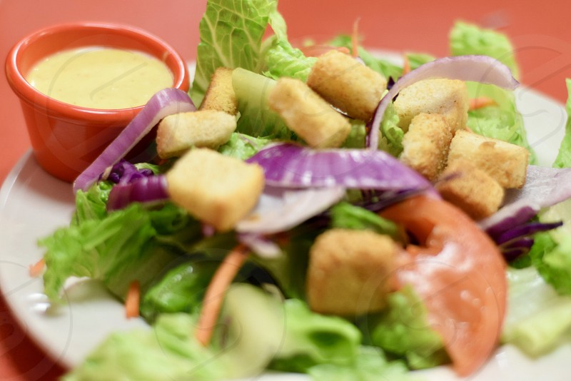 All kinds of salad  photo