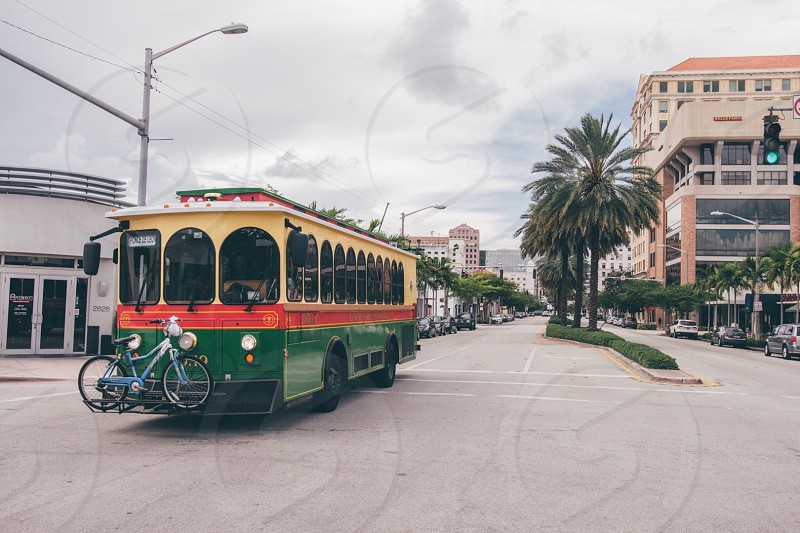 Miami city street photo