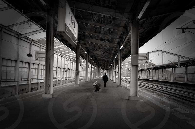Shin - Iwakuni Station. Japan. photo