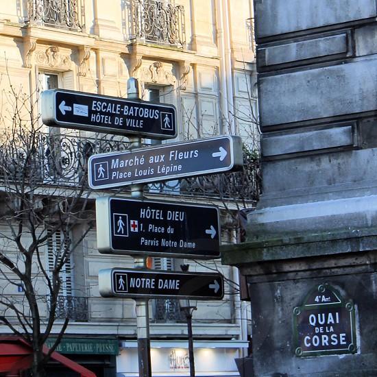 Paris Street Signs photo