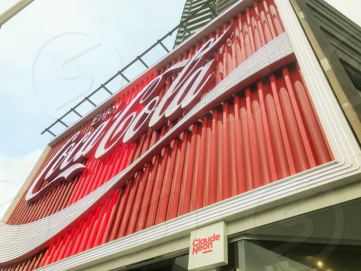 Kings Cross Sydney Coca Cola signage photo