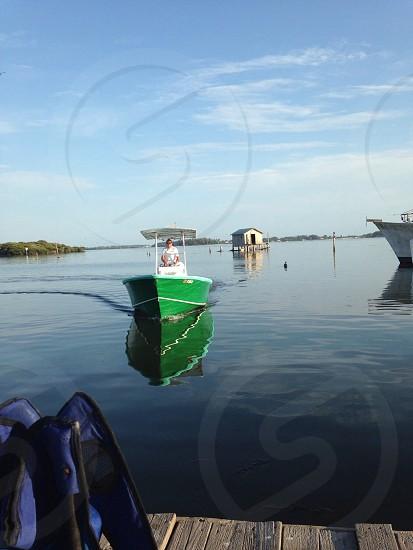 Boating on Cortez in Bradenton Florida.  photo