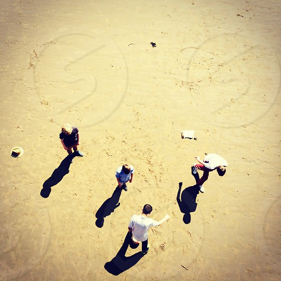 Friends at the beach photo
