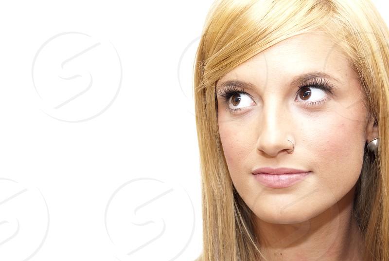 Pretty woman photo