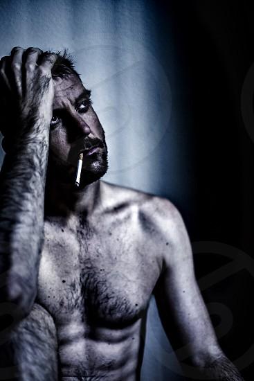 Prisoner longing for release photo