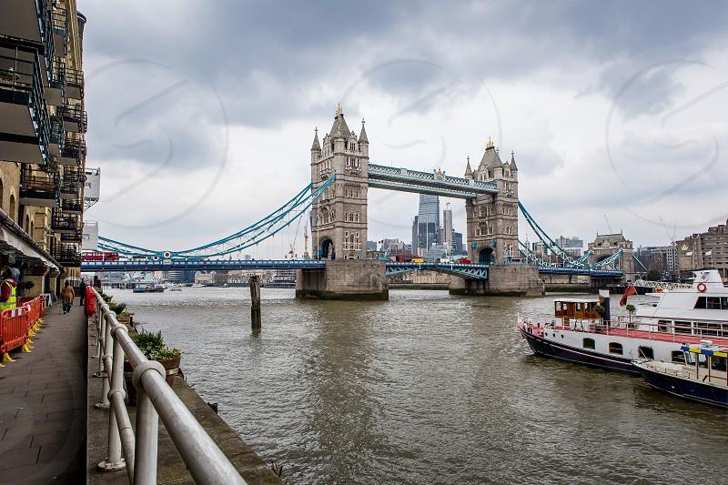 TowerBridge Riverside Walk Bermondsey London photo