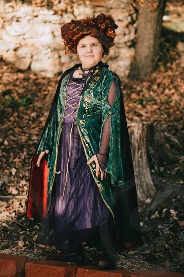 Hocus Pocus witch Halloween costume child photo