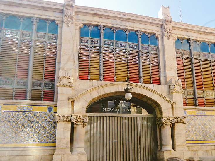 Mercado central Valencia Spain photo