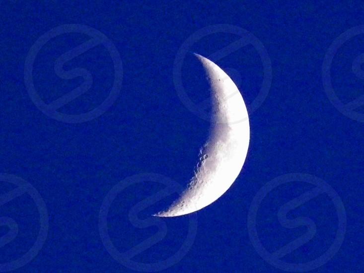 Daylight  Moon in Blue photo