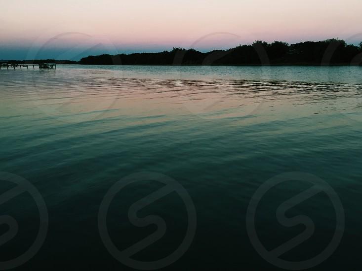 Intercoastal waterway in late summer photo
