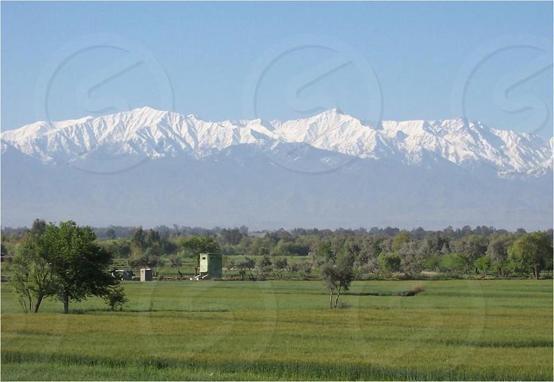 Border of Pakistan/Afghanistan photo
