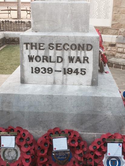 Armistice 100 year anniversary WW1 photo