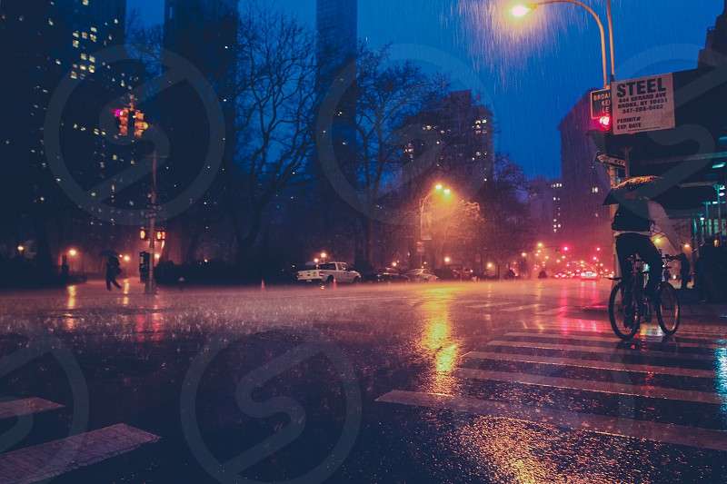 East Village in the rain photo