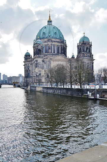 The Berlin Cathedral in winter photo