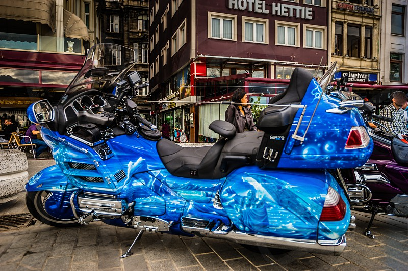 Goldwing Istanbul Turkey. One of the best I've seen. photo