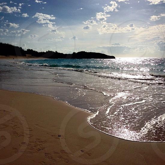 Sunrise over Warwick Long Bay Bermuda photo
