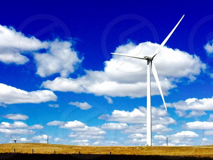 Windmills on the Osage  photo