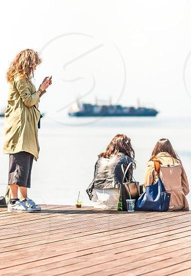 Friends On The Dock photo