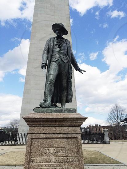 colonel william prescott statue photo