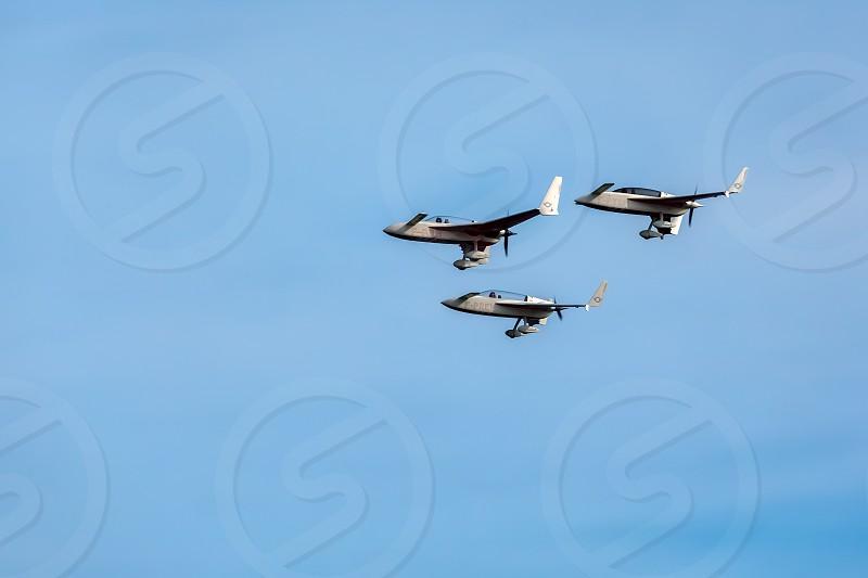 Patrouille Reva Display Team at Airbourne photo