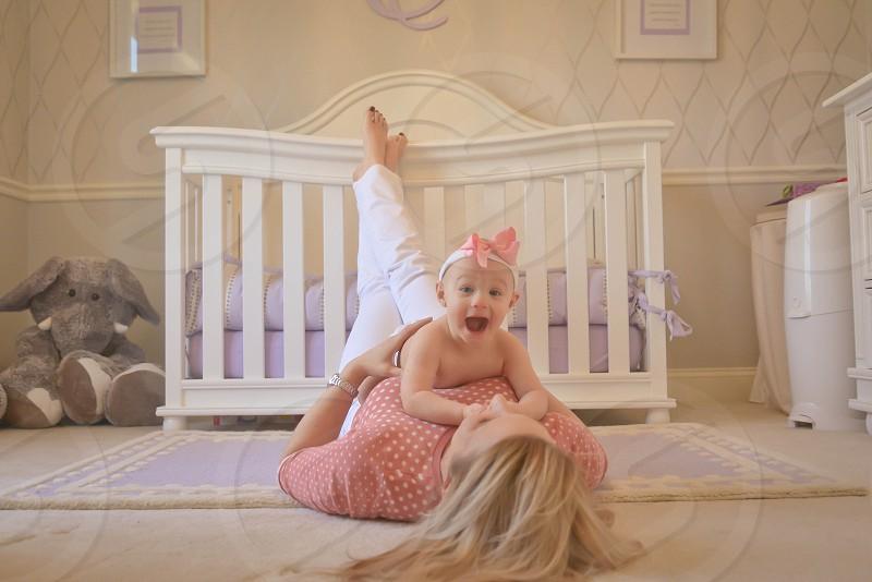 Baby girl is here! Purple nursery; beautiful baby girl; happy baby; motherhood; maternity; pregnancy; baby girl photo
