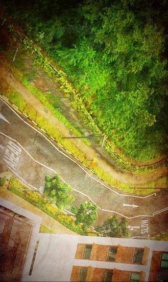 Beautiful roads after rain! photo