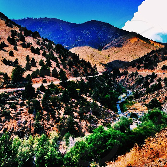 Overlooking the canyon on highway 263 in Northern California. VSCO Filter C1 photo