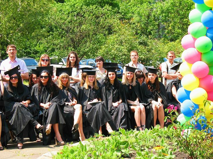 Kiev students graduates photo