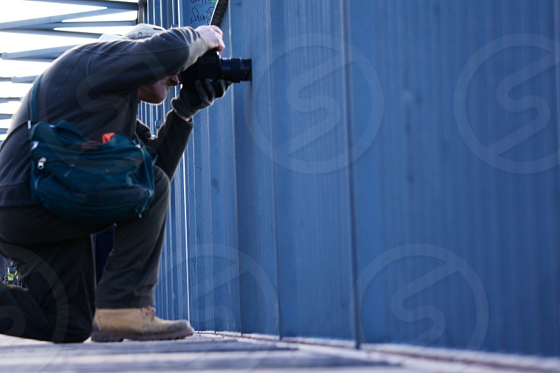 men's tan work boot photo