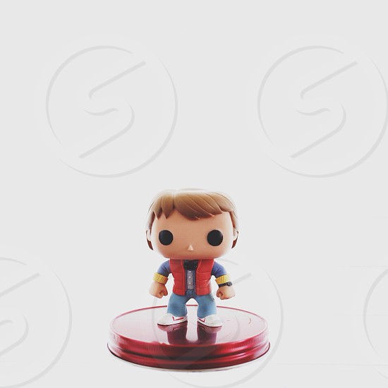 marty mcfly figurine photo