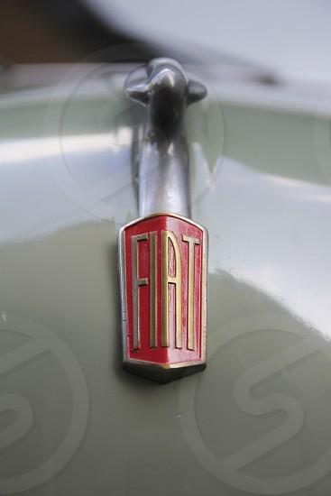 fiat classic car emblem photo