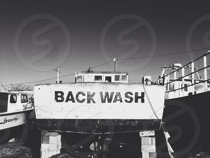 Back wash photo