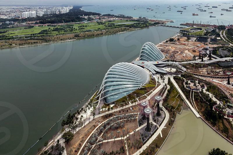 New Botanical Gardens under Construction in Singapore photo