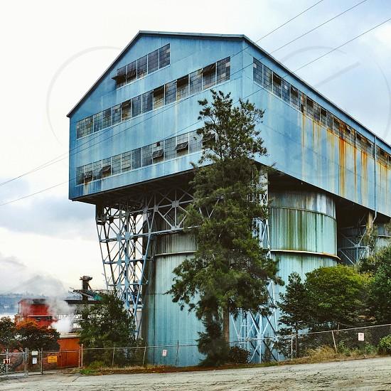 Industrial building  photo