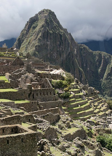 Ruins of Machu Picchu Peru photo