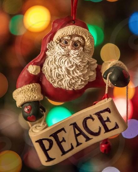 Santa ornament  photo